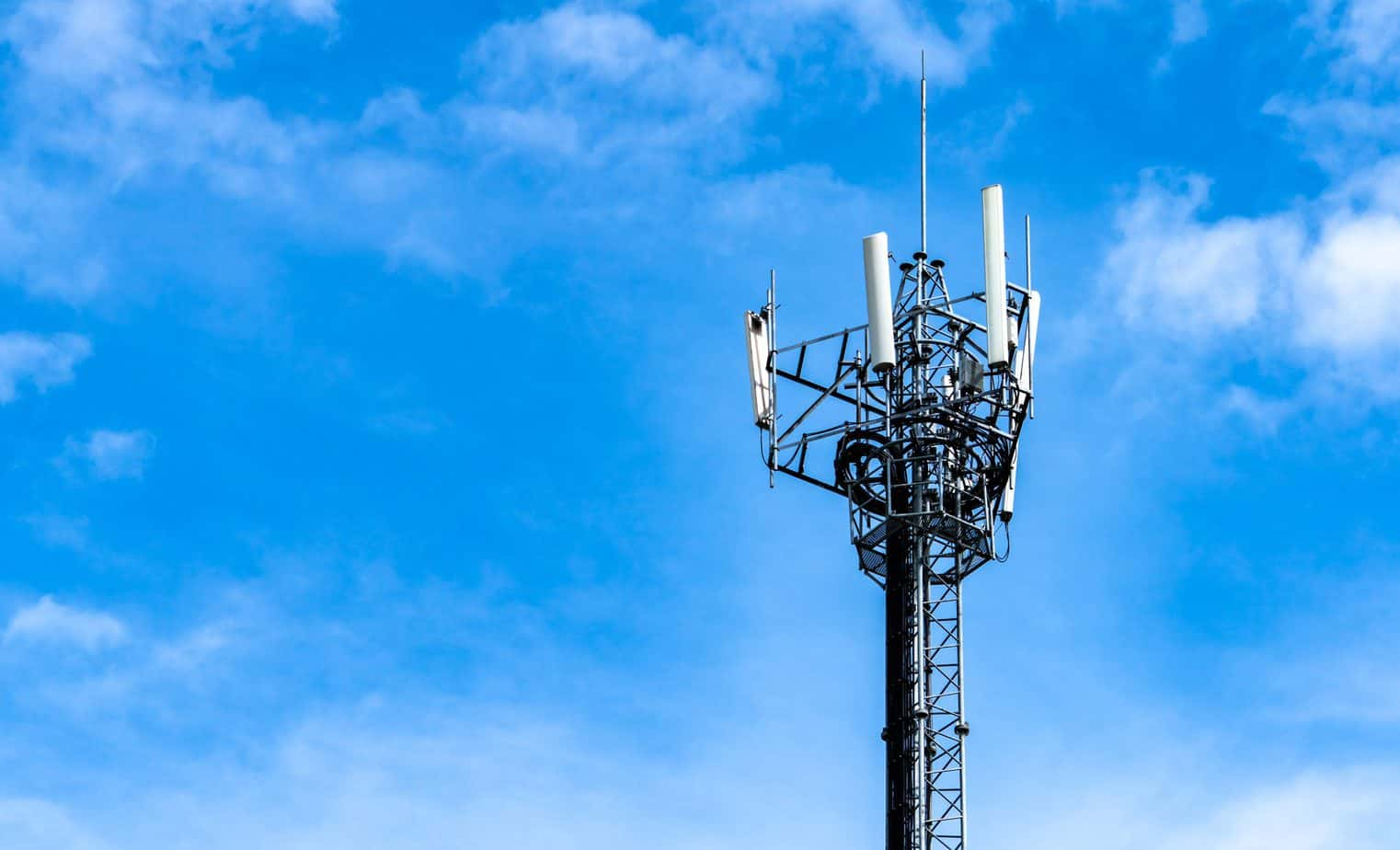 4g telecoms tower