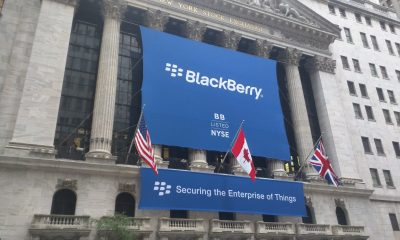 blackberry new york stock exchange