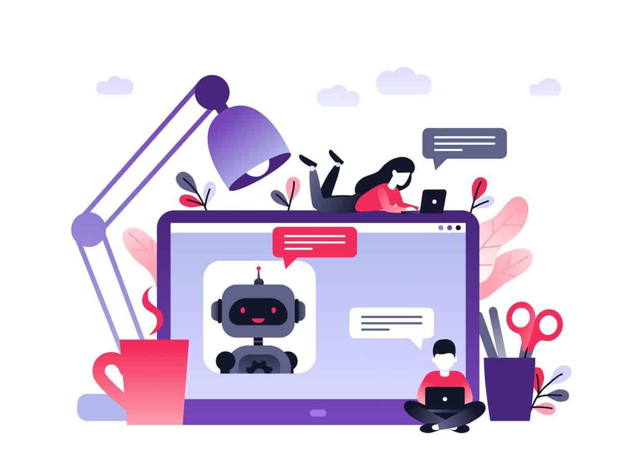 chatbot service ai laptop customer service