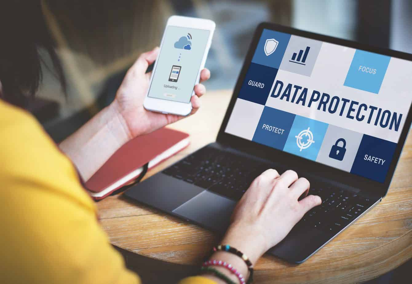 data protection laptop