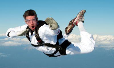 skydiving executive